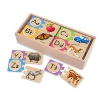 Alphabet Wooden Puzzle Cards