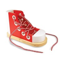 Lacing Sneaker Wooden Toy