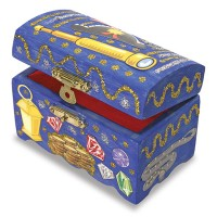Decorate Your Own Wooden Treasure Chest Kids Craft