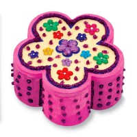 Wooden Flower Chest Party Favor for Girls