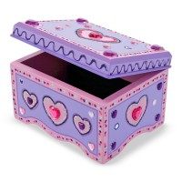 Decorate Your Own Wooden Jewelry Box