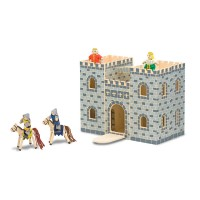 Fold & Go Knight Castle Wooden Toy