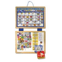 Magnetic Calendar Wooden Playset