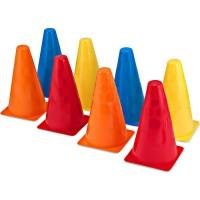 Activity Cones - Set of 8 Colorful Cones