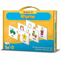 Match It! - Rhyme Educational Puzzle