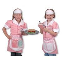 Waitress Girls Costume Role Play Set