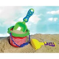 Kids First Beach Playset 3 pc Sand Toy Set