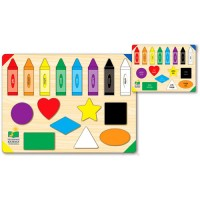 Colors and Shapes Learning Puzzle