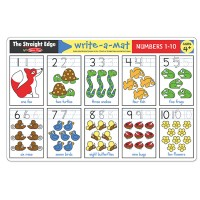 Numbers 1-10 Learning Placemat