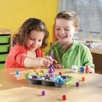 Mini Muffin Match up Math Learning Activity Set