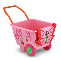 Bella Butterfly Pink Play Cart for Girls