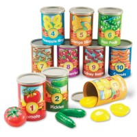 1 to 10 Counting Cans Learning Toy