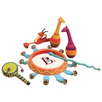 Jungle Jingles African Animals 5 pc Musical Instruments Set