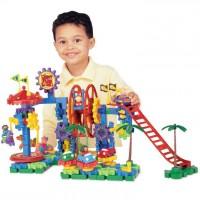Dizzy Fun Land Motorized Gears Building Toy
