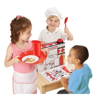 Pretend Diner Kids Restaurant Role Playing Set