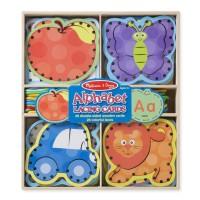 Alphabet Lacing Cards Preschool Learning Set