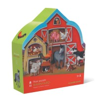 Farm 30 pc Jigsaw Puzzle in Barn Shaped Gift Box