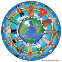 Children Around the World - Circular Floor Puzzle
