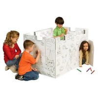 Coloring Play Castle