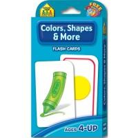 Colors, Shapes & Thinking Skills Flash Cards