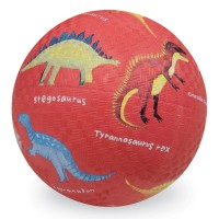 Dinosaurs 5 inch Red Play Ball for Kids