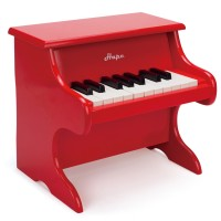 Playful Piano Red Toy Piano