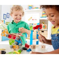 Master Builder 62 pc Wooden Construction Set