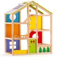 All Season House Wooden Dollhouse