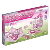 Geomag Pink Panels 142 pc Magnetic Building Set for Girls