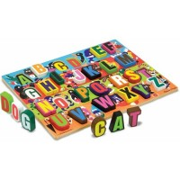 Jumbo ABC Chunky Wooden Puzzle