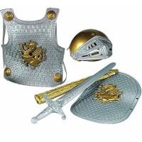 Knight Dress Up Armor Set - Silver