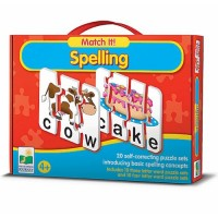 Match It!  Spelling Learning Puzzle