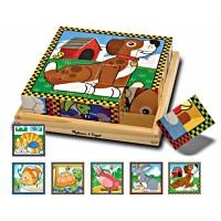 Pets Cube Wooden Puzzle