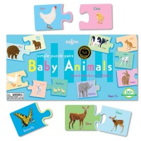 Baby Animals Learning Puzzle Game