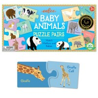 Baby Animals Learning Puzzle Pairs Game