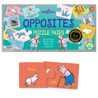 Opposites Learning Puzzle Pairs Game