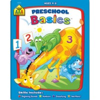 Preschool Basics Workbook - 32 Pages