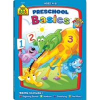 Preschool Basics Workbook - 64 Pages