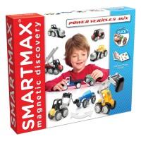 Smartmax Power Vehicles Max Magnetic Building Set