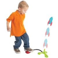 Rocket Zoomer Foam Rocket Launcher Toy