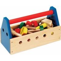 Take Along Tool Kit Wooden Toy Tools Set