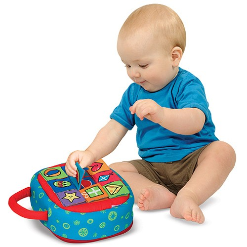 Take Along Shape Sorter Manipulative Baby Toy ...