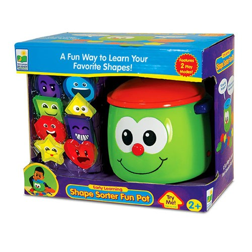 Electronic Educational Toys : Shape sorter fun pot electronic learning toy educational