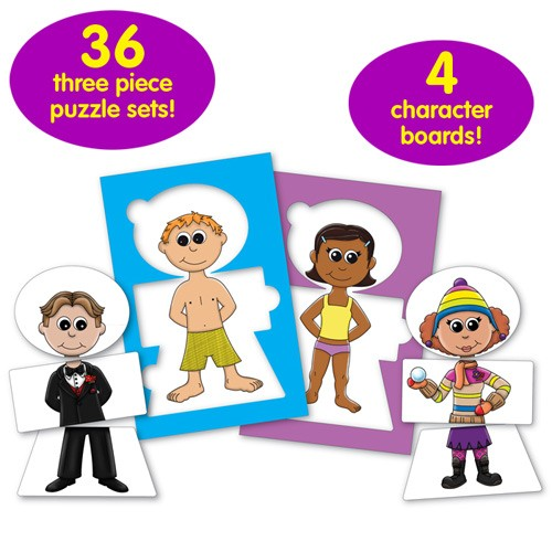 Dress It Dolls Dress Up Puzzle Game Educational Toys Planet