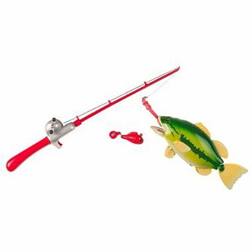 Catch of the day toy fishing rod educational toys planet for Youth fishing pole