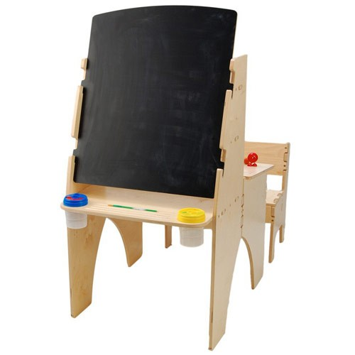 Anatex Art Easel and Kids Desk bo with Bench