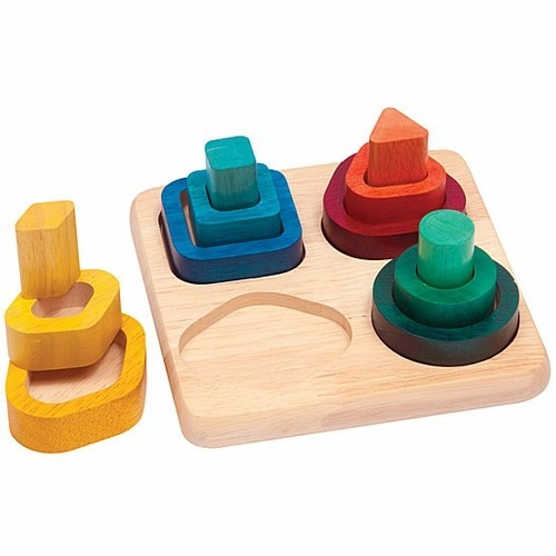 Wooden Learning Toys : Gradient sorter wooden learning toy educational toys planet