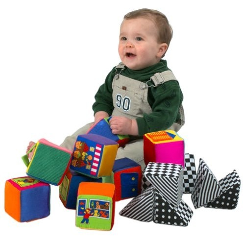 Baby Blocks Toys : Knock blocks soft baby set educational toys