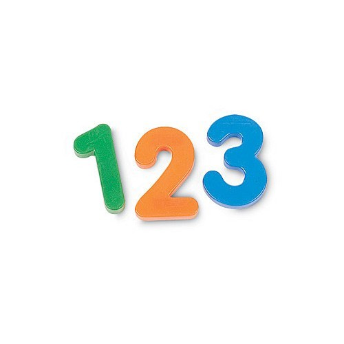 Jumbo Magnetic Numbers Set Of 36 Educational Toys Planet