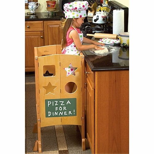 Kitchen Helper Stand Natural Educational Toys Planet